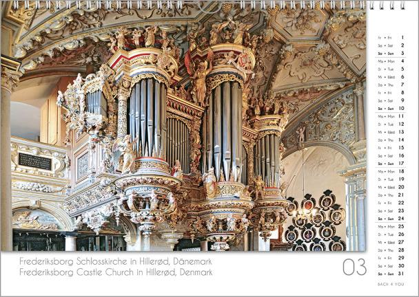 Ein Orgelkalender: das Märzblatt.