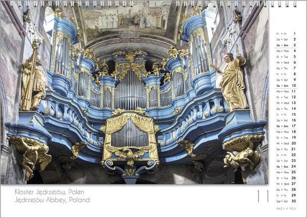 Ein Orgelkalender: das Novemberblatt.